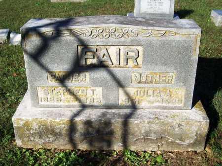 FAIR (VETERAN CSA), STEPHEN THOMAS - Benton County, Arkansas | STEPHEN THOMAS FAIR (VETERAN CSA) - Arkansas Gravestone Photos