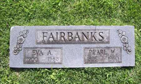 FAIRBANKS, PEARL W. - Benton County, Arkansas | PEARL W. FAIRBANKS - Arkansas Gravestone Photos