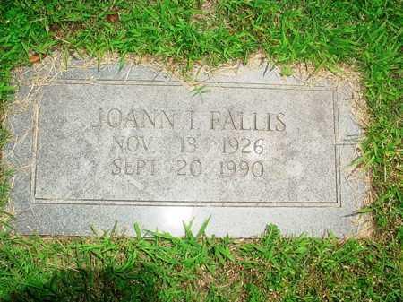 FALLIS, JOANN I. - Benton County, Arkansas | JOANN I. FALLIS - Arkansas Gravestone Photos