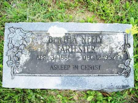 NEELY FARIESTER, BERTHA - Benton County, Arkansas | BERTHA NEELY FARIESTER - Arkansas Gravestone Photos