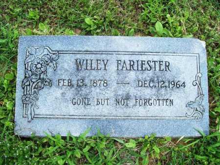 FARIESTER, WILEY - Benton County, Arkansas   WILEY FARIESTER - Arkansas Gravestone Photos