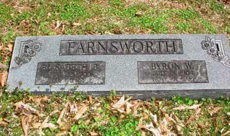 FARNSWORTH, ELIZABETH B. - Benton County, Arkansas   ELIZABETH B. FARNSWORTH - Arkansas Gravestone Photos