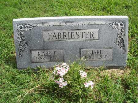 FARRIESTER, JAKE - Benton County, Arkansas | JAKE FARRIESTER - Arkansas Gravestone Photos