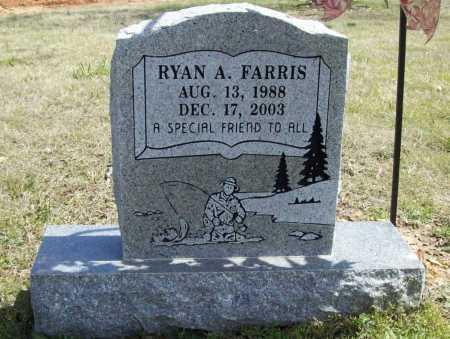 FARRIS, RYAN A. - Benton County, Arkansas | RYAN A. FARRIS - Arkansas Gravestone Photos