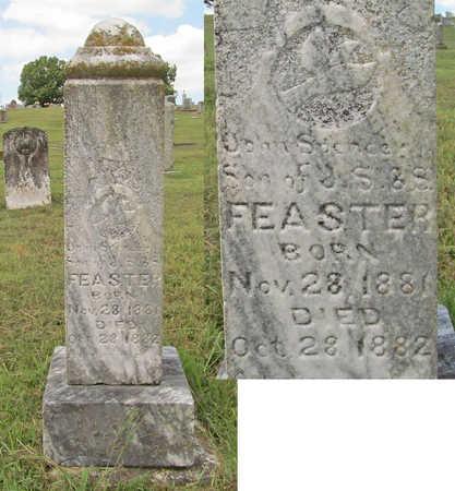 FEASTER, JOHN SPENCER - Benton County, Arkansas | JOHN SPENCER FEASTER - Arkansas Gravestone Photos