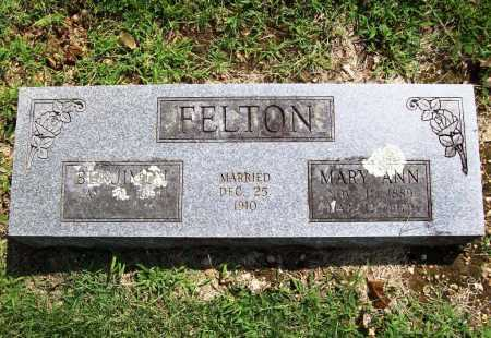 FELTON, MARY ANN - Benton County, Arkansas | MARY ANN FELTON - Arkansas Gravestone Photos