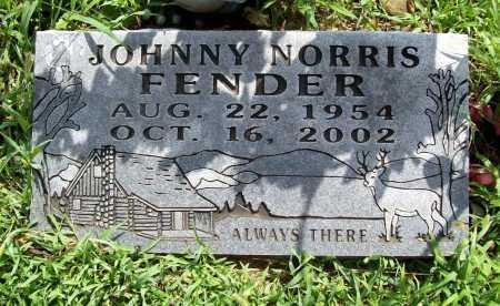 FENDER, JOHNNY NORRIS - Benton County, Arkansas   JOHNNY NORRIS FENDER - Arkansas Gravestone Photos