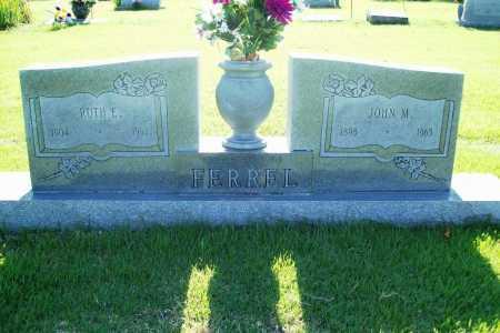 FERREL, RUTH E. - Benton County, Arkansas | RUTH E. FERREL - Arkansas Gravestone Photos