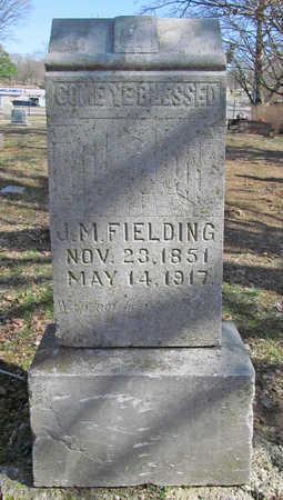 FIELDING, JAMES MARION - Benton County, Arkansas | JAMES MARION FIELDING - Arkansas Gravestone Photos