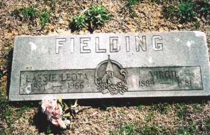 FIELDS FIELDING, LASSIE LEOTA - Benton County, Arkansas | LASSIE LEOTA FIELDS FIELDING - Arkansas Gravestone Photos