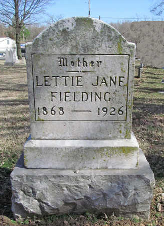 "KELLEY FIELDING, LETISHA JANE ""LETTIE"" - Benton County, Arkansas | LETISHA JANE ""LETTIE"" KELLEY FIELDING - Arkansas Gravestone Photos"