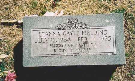 FIELDING, LEANNA GAYLE - Benton County, Arkansas   LEANNA GAYLE FIELDING - Arkansas Gravestone Photos