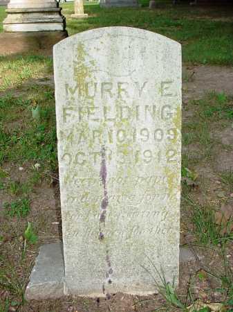 FIELDING, MURRAY EDGAR - Benton County, Arkansas   MURRAY EDGAR FIELDING - Arkansas Gravestone Photos