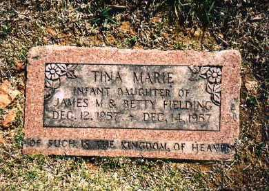 FIELDING, TINA MARIE - Benton County, Arkansas | TINA MARIE FIELDING - Arkansas Gravestone Photos