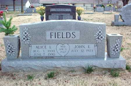 TOWNSEND FIELDS, ALICE L. - Benton County, Arkansas | ALICE L. TOWNSEND FIELDS - Arkansas Gravestone Photos