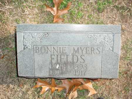 FIELDS, BONNIE MYERS - Benton County, Arkansas   BONNIE MYERS FIELDS - Arkansas Gravestone Photos