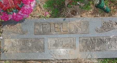 FIELDS, CLARENCE ELBRIDGE - Benton County, Arkansas | CLARENCE ELBRIDGE FIELDS - Arkansas Gravestone Photos