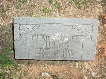 FIELDS, CHARLES LEE - Benton County, Arkansas | CHARLES LEE FIELDS - Arkansas Gravestone Photos