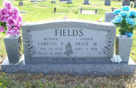 FIELDS, LORETTA FAY - Benton County, Arkansas | LORETTA FAY FIELDS - Arkansas Gravestone Photos