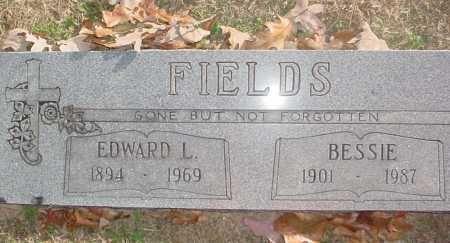 FIELDS, EDWARD LEE - Benton County, Arkansas | EDWARD LEE FIELDS - Arkansas Gravestone Photos