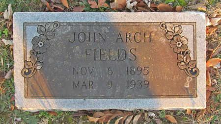FIELDS, JOHN ARCH - Benton County, Arkansas | JOHN ARCH FIELDS - Arkansas Gravestone Photos