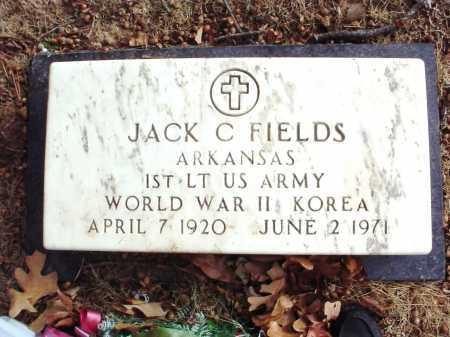 FIELDS (VETERAN 2 WARS), JACK C. - Benton County, Arkansas   JACK C. FIELDS (VETERAN 2 WARS) - Arkansas Gravestone Photos