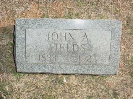 FIELDS (VETERAN CSA), JOHN ARCH  - Benton County, Arkansas | JOHN ARCH  FIELDS (VETERAN CSA) - Arkansas Gravestone Photos