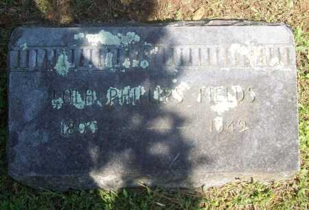 PHILLIPS FIELDS, LOLA - Benton County, Arkansas | LOLA PHILLIPS FIELDS - Arkansas Gravestone Photos
