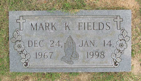 FIELDS, MARK K - Benton County, Arkansas   MARK K FIELDS - Arkansas Gravestone Photos