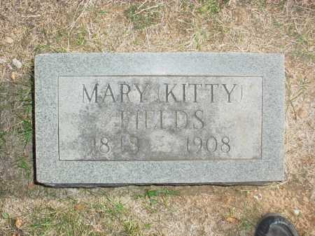 FIELDS, MARY LOUISE (KITTY) - Benton County, Arkansas | MARY LOUISE (KITTY) FIELDS - Arkansas Gravestone Photos