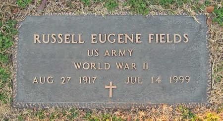 FIELDS (VETERAN WWII), RUSSELL EUGENE - Benton County, Arkansas   RUSSELL EUGENE FIELDS (VETERAN WWII) - Arkansas Gravestone Photos