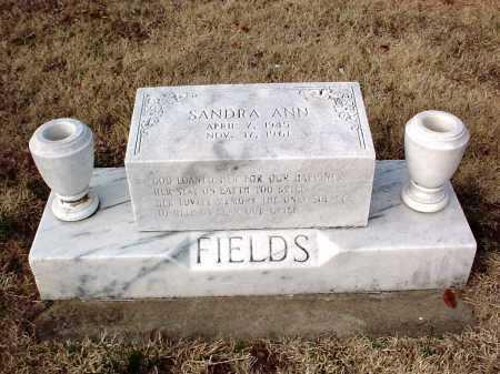 FIELDS, SANDRA ANN - Benton County, Arkansas   SANDRA ANN FIELDS - Arkansas Gravestone Photos