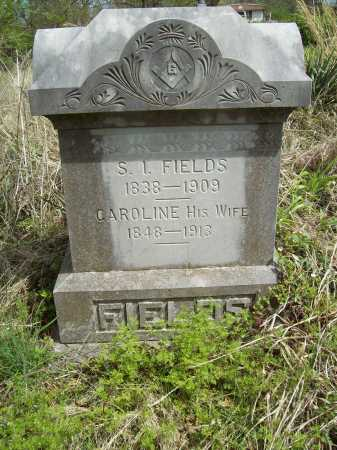 FIELDS, CAROLINE BELVEDERE - Benton County, Arkansas | CAROLINE BELVEDERE FIELDS - Arkansas Gravestone Photos