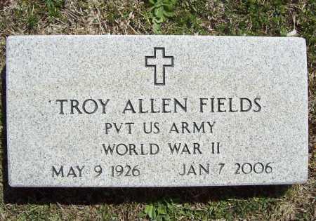 FIELDS (VETERAN WWII), TROY ALLEN - Benton County, Arkansas   TROY ALLEN FIELDS (VETERAN WWII) - Arkansas Gravestone Photos