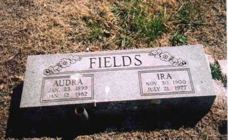 FIELDS, AUDRA LOVALL - Benton County, Arkansas | AUDRA LOVALL FIELDS - Arkansas Gravestone Photos