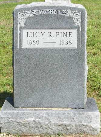 FINE, LUCY R. - Benton County, Arkansas | LUCY R. FINE - Arkansas Gravestone Photos