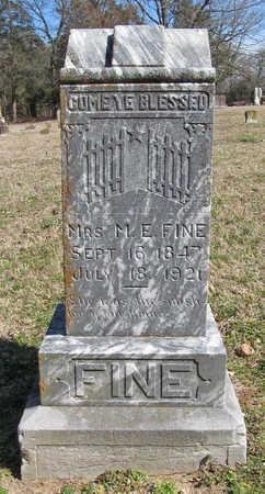 FINE, MARGARET E - Benton County, Arkansas | MARGARET E FINE - Arkansas Gravestone Photos