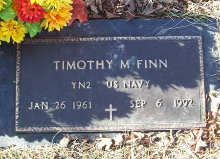 FINN (VETERAN), TIMOTHY M. - Benton County, Arkansas | TIMOTHY M. FINN (VETERAN) - Arkansas Gravestone Photos