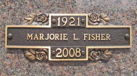 LE BOEUF FISHER, MARJORIE L. - Benton County, Arkansas | MARJORIE L. LE BOEUF FISHER - Arkansas Gravestone Photos