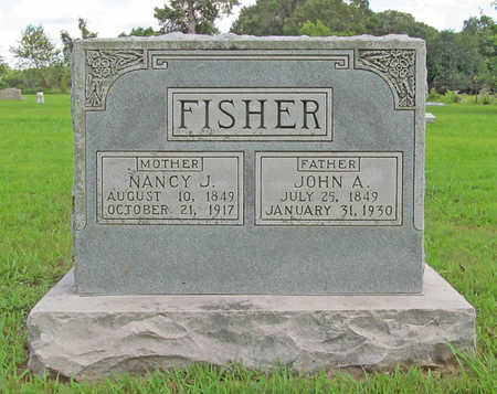 FISHER (VETERAN), JOHN A. - Benton County, Arkansas | JOHN A. FISHER (VETERAN) - Arkansas Gravestone Photos