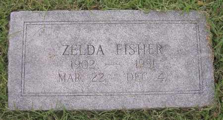 FISHER, ZELDA - Benton County, Arkansas | ZELDA FISHER - Arkansas Gravestone Photos