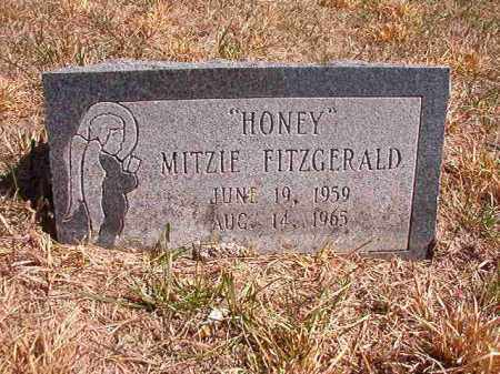 "FITZGERALD, MITZI ""HONEY"" - Benton County, Arkansas | MITZI ""HONEY"" FITZGERALD - Arkansas Gravestone Photos"