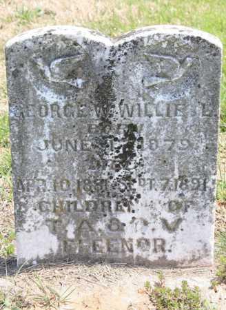 FLEENER, GEORGE W. - Benton County, Arkansas   GEORGE W. FLEENER - Arkansas Gravestone Photos