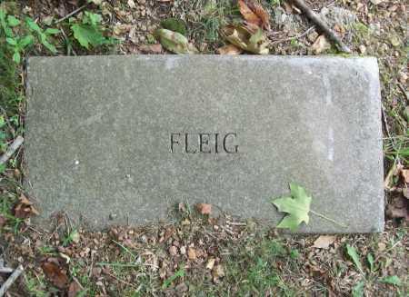 FLEIG, UNKNOWN - Benton County, Arkansas | UNKNOWN FLEIG - Arkansas Gravestone Photos
