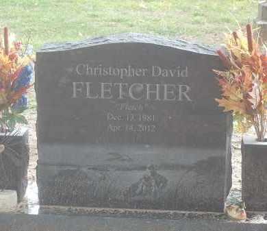 FLETCHER, CHRISTOPHER DAVID - Benton County, Arkansas   CHRISTOPHER DAVID FLETCHER - Arkansas Gravestone Photos