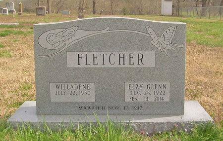 FLETCHER, ELZY GLENN - Benton County, Arkansas   ELZY GLENN FLETCHER - Arkansas Gravestone Photos