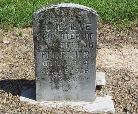 FLETCHER, GENEVIEVE - Benton County, Arkansas | GENEVIEVE FLETCHER - Arkansas Gravestone Photos