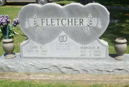 FLETCHER, HAROLD B. - Benton County, Arkansas | HAROLD B. FLETCHER - Arkansas Gravestone Photos