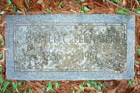 FLETCHER, MYRTLE C. - Benton County, Arkansas   MYRTLE C. FLETCHER - Arkansas Gravestone Photos