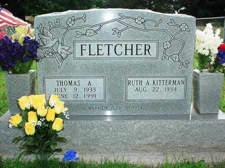 FLETCHER, THOMAS A. - Benton County, Arkansas   THOMAS A. FLETCHER - Arkansas Gravestone Photos
